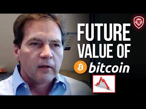 Bitcoin Will Never Go Over $100,000 - Craig Wright