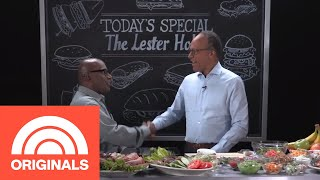 Lester Holt Tells Al Roker About His Rock Band, Career, And New Grandson | COLD CUTS | TODAY
