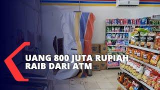 Uang 800 Juta Rupiah Hilang Dari Mesin ATM