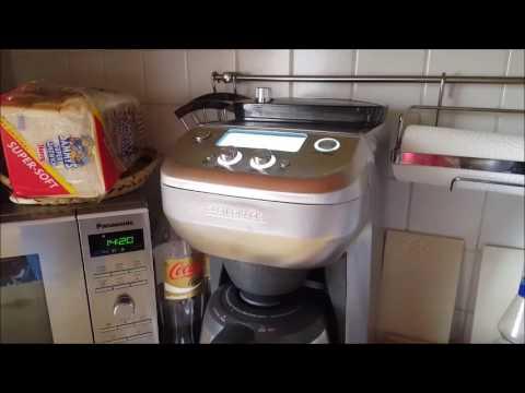 gastroback 42720 kaffeemaschine mit mahlwerk youtube. Black Bedroom Furniture Sets. Home Design Ideas