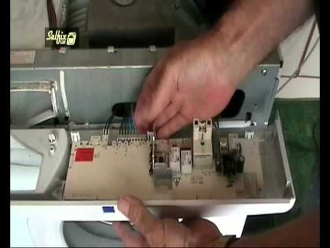 Control 4 Switch Wiring Diagram 3 Prong Extension Cord How To Replace And Program A Hotpoint Washing Machine Module - Youtube