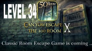 Can You Escape The 100 room X level 34 Walkthrough