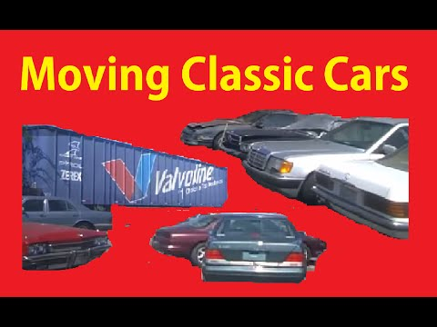 Cold Start Moving Classic Old Cars Car Lot Walkaround ~ BTS Part 6