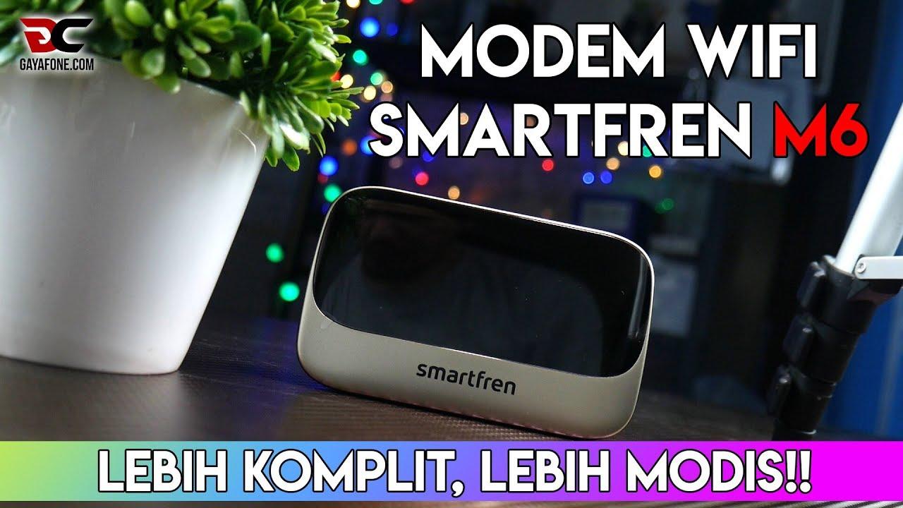 REVIEW MODEM WIFI (MIFI) SMARTFREN M6, Lebih Komplit!!