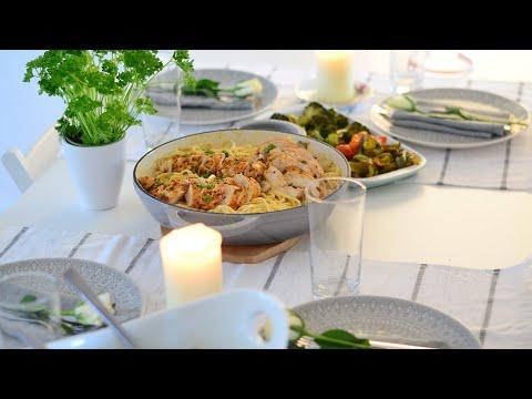 سفرة عشاء خفيفة لصديقاتي | Kolay  Akşam Yemeği Menüsü | Dinner Table Setting