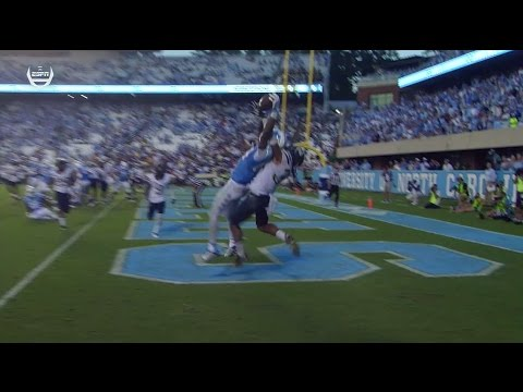 UNC Football: Trubisky Leads Game-Winning Drive vs. Pitt