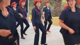 les hobos dancers cleder à plouescat(29)  le 10 aout 2017