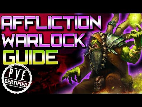 How to play Warlock in Battle for Azeroth Affliction PVE GUIDE