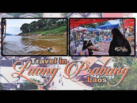 SUAB HMONG TRAVEL:  Ride boat and night market in Luang Prabang, Laos