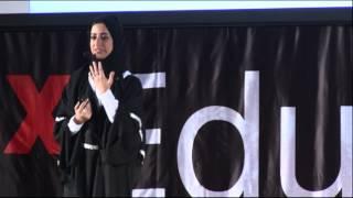 Tell the story: Sara Al-Saadi at TEDxEducationCity