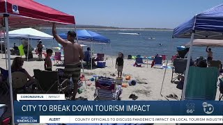 San Diego officials to break down virus impact on tourism
