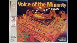 Motor Cap 1971 Voice of the Mummy Board Game Record Player