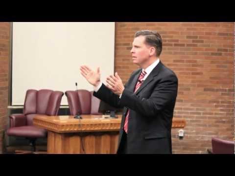 Dan Liljenquist Town Hall Meeting in Orem, Utah