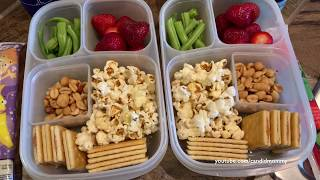 2 Snack Filled Lunch Ideas!