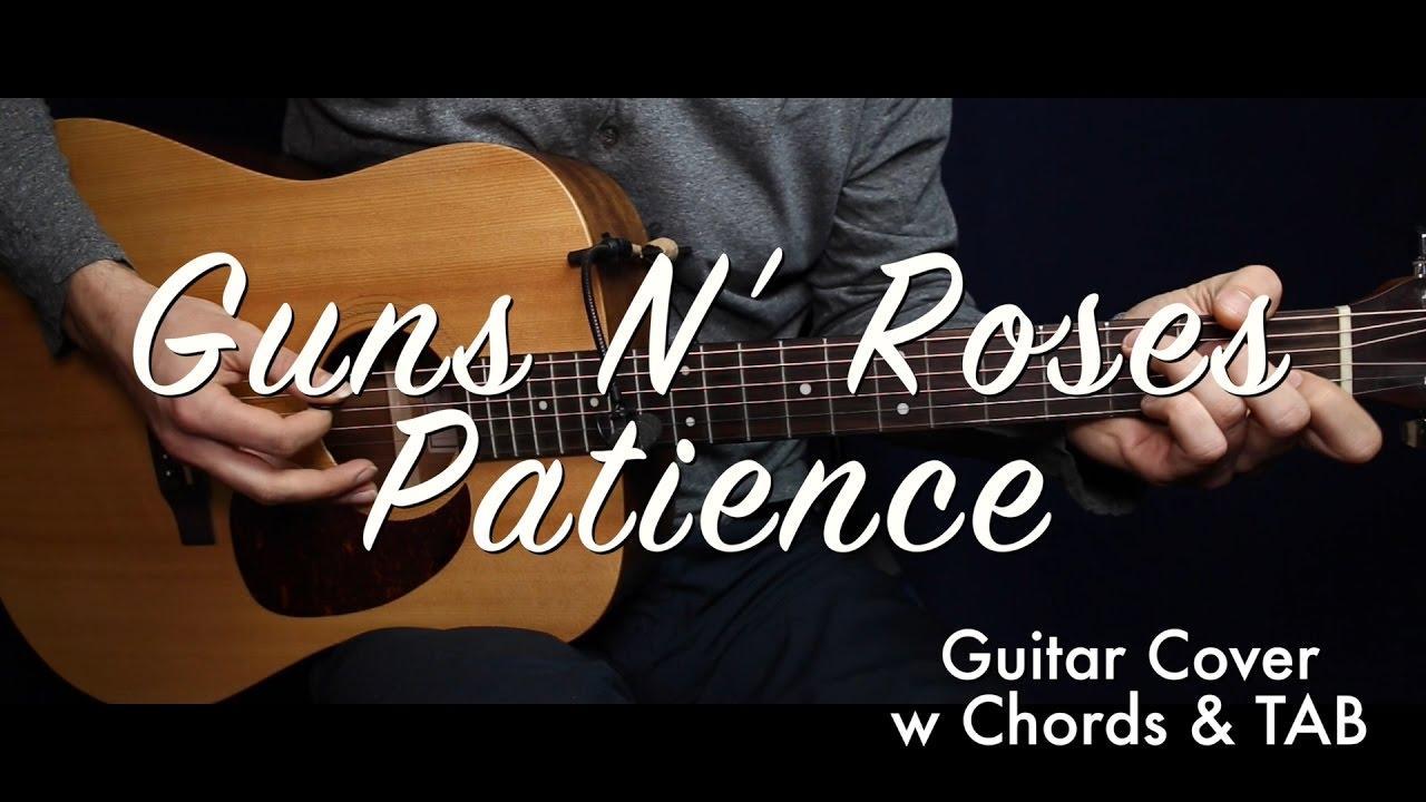 Guns N Roses Patience Chords Guitar Coverguitar Lesson