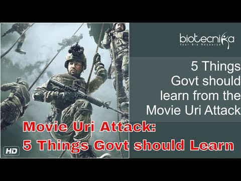 Movie Uri Attack 5 Things Indian Govt Should Learn From The Movie