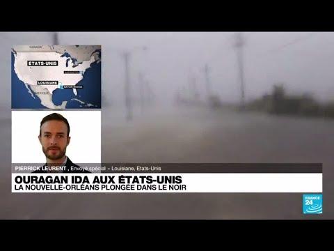 Download Ouragan Ida aux États-Unis : les vents se sont calmés ce lundi • FRANCE 24