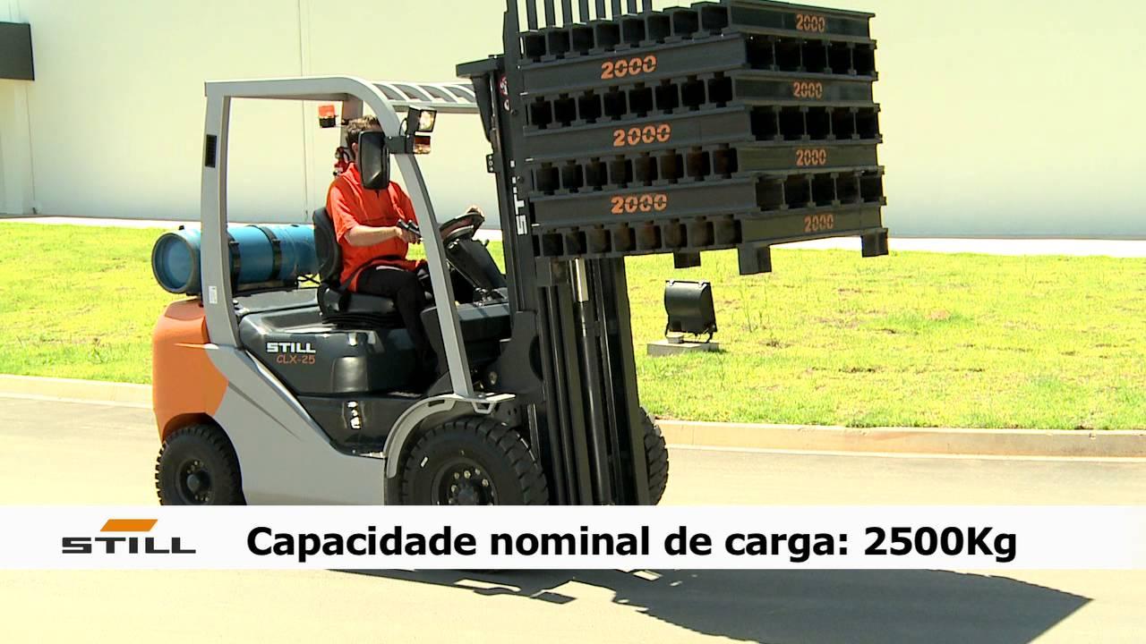 Still apresentao da empilhadeira clx 25 youtube fandeluxe Choice Image