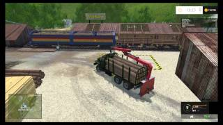 Farming Simulator 15 - Ural Timber Truck in the Alps