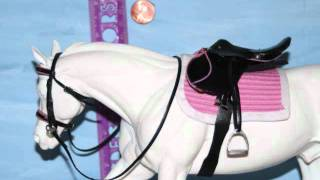 breyer model horse tack saddles for sale