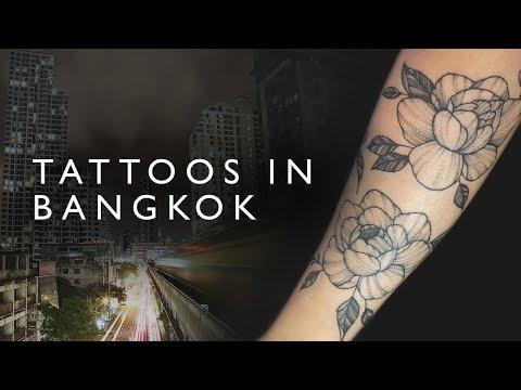 We got TATTOOS in Bangkok!
