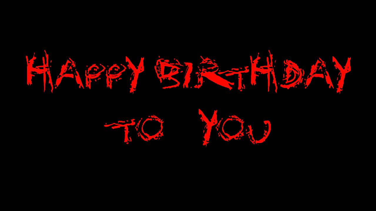Happy Metal Birthday Cake