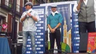 andy y lucas pregoneros fiesta de la paloma en madrid
