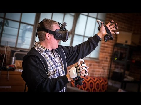 PROJECTIONS, Episode 8: Hands-On with Dexmo VR Haptic Exoskeleton!