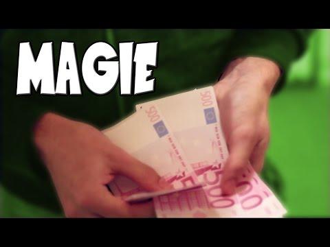 Transformer du papier en BILLET ( Dynamo street magie explication)