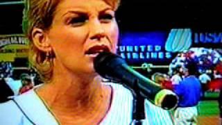 Faith Hill National Anthem 1998 MLB All Star Game