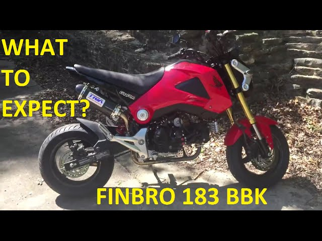 Honda Grom Performance Mods 5 Finbro 183cc Bore Kit Kitaco Clutch Cover Oil Cooler Clipzui