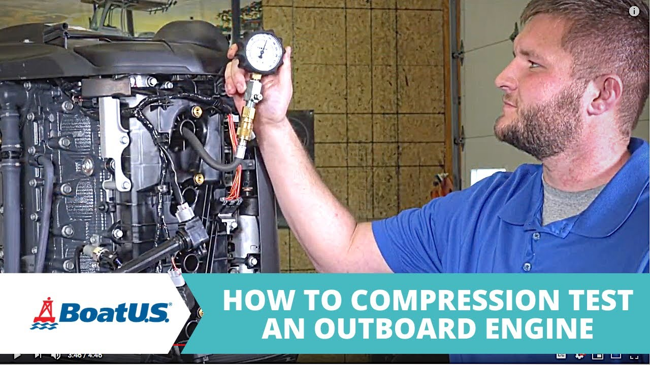How to Compression Test an Outboard Motor | BoatUS