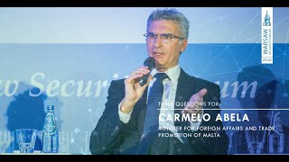 WSF2018 | #ThreeQuestionsFor: Carmelo Abela - Minister for Foreign Affairs and Trade of Malta