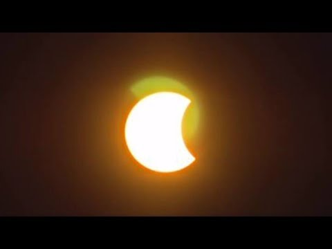 Eclipse in Central Virginia from NBC12's rooftop