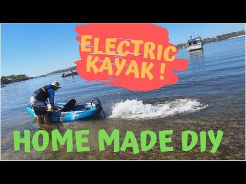 Electric Kayaks And Paddle Kayaks - Day On The Water And Modifications Testing KAYAK MODS Kayak Life