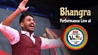 Bhangra | Arshdeep Singh | Student Performance | Vibgyor 2k19 | BFGI