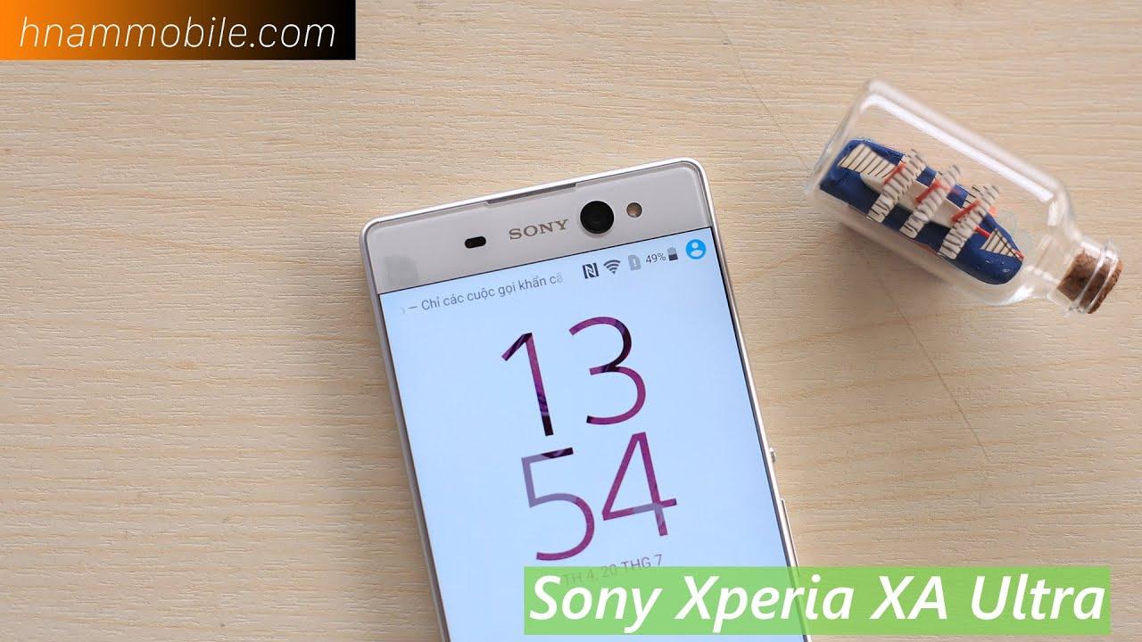 H-Channel | Mở hộp Sony Xperia XA Ultra: Thiết kế không viền trên màn hình 6in.