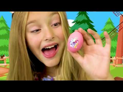 Sasha And Masha Play With Surprise Eggs And Gifts For Girls