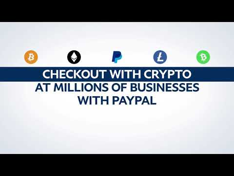 PayPal - Checkout with Crypto Video