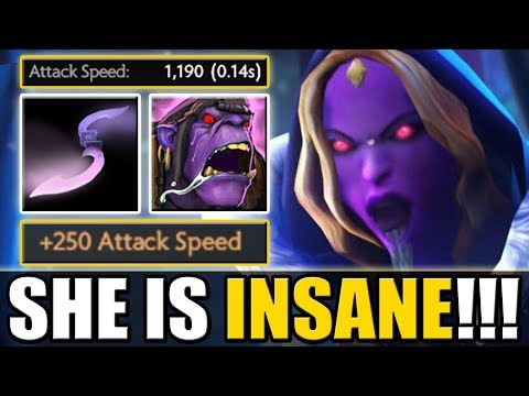 Glaives! Glaives everywhere! [Max possible attack speed Crystal maiden] Dota 2 Ability Draft thumbnail