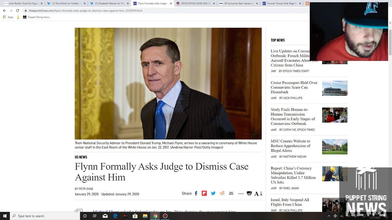 CFP - DOJ offers no jail time for General Flynn, John Bolton paid over $100,000 by Ukrainian Oligarc