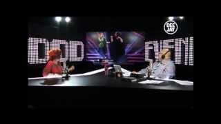 Noemi a Platinissima - deeJay tv  23.3.12 - Polemiche su Sanremo? Bisogna guardare avanti