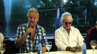 Air Supply en Paraguay - Conferencia de prensa 1-2