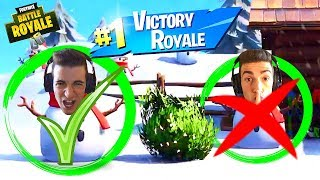 ¡VICTORIA REAL EN EL SNOW! - FORTNITE ITA