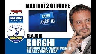 """d05b7a3a95 Claudio Borghi su """"Radio 1"""""""