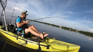 Shark Vs Light Tackle on 2019 Hobie Outback Runcl WATERPROOF Tackle Box REVIEW