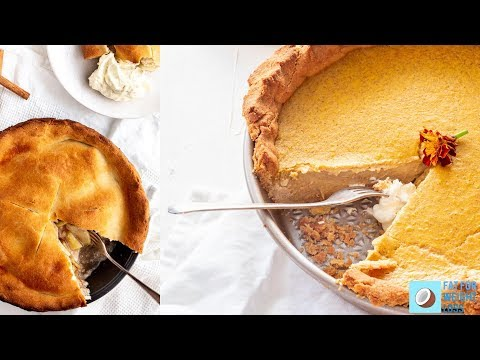 How To Make Keto Pie Crust - Buttery And Flaky Crust