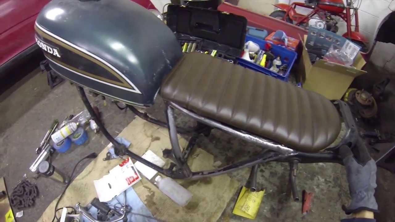 Cafe Racer Seat Pan Build