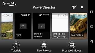 PowerDirector App 34 Delete and Restore Files Works just Fine