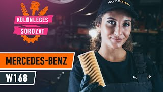 MERCEDES-BENZ A-CLASS benzin és dízel Befecskendező szelep beszerelése: videó útmutató